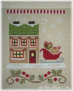 Image result for santa's village country cottage needleworks