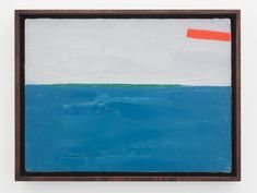 Etel Adnan undated Oil on canvas 9 x 12 inches 22.9 x 30.5 cm (Inv# EA018)