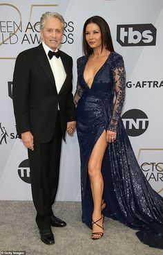Catherine Zeta-Jones and Michael Douglas selling $15 million NY estate to Australian billionaire  | Daily Mail Online Catherine Zeta Jones, 50 Fashion, Diva Fashion, Style Fashion, Swansea, Fashion Essentials, Dress Me Up, Latest Trends, Celebrity Style