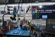 Hobby Desk, Hobby Room, Studio Desing, Mobile Shop Design, Artist Workspace, Mobile Workshop, Electronic Workbench, Electronic Schematics, Electronics Projects