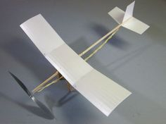 Make Your Own Snowflake – A Rubber Band Powered Foam Plate Airplane | endlessLift