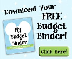 This will teach you how to put your family on a budget so you can afford your Walt Disney World or Disneyland vacation.