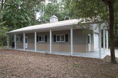 Garages Sheds Jacksonville Fl morton buildings garage with attached office in jacksonville