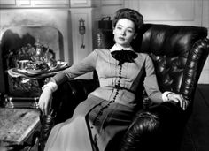 Gene Tierney in THE GHOST AND MRS. MUIR (1947). Directed by Joseph L. Mankiewicz.