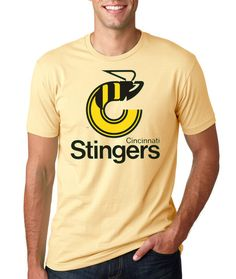 20f58e7f0b7 Cincinnati Stingers (1975 - 79) Tee