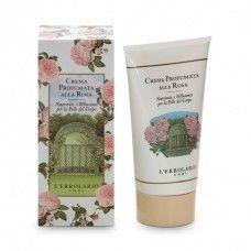 Rózsa testápoló krém - Rendeld meg online! Parfüm és kozmetikum család az olasz Lerbolario naturkozmetikumoktól  http://lerbolario-naturkozmetikumok.hu/parfum-illatcsaladok/rozsa