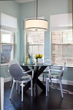 Light for breakfast nook?    Abbe Fenimore - Studio Ten 25 contemporary dining room
