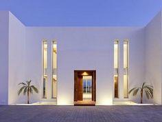 Ibiza villa entrance