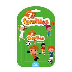 Votre enfant va s'amuser à gagner le plus de familles possibles ! Pratique,  chaque famille possède un liseré de couleur différent pour que même les plus petits puissent jouer !