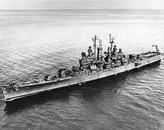 USS Biloxi CL-80