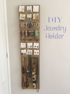 Joyero pared DIY