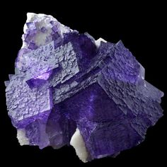 fuckyeahmineralogy:  Fluorite; Elmwood Mine, Tennessee