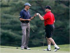 Obama's Golfing Buddy a Key Figure in Illinois Corruption Case Fist Bump, Chief Of Staff, Barack Obama, Illinois, Presidents, Politics, Golf, America, Baseball Cards