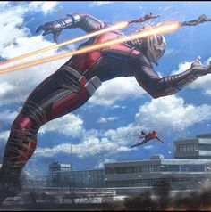 In this newly revealed batch of Captain America: Civil War concept art, we get to see keyframes of all the biggest action scenes and even head into Steve Rogers' apartment in the New Avengers Facility. Heros Comics, Marvel Dc Comics, Marvel Heroes, Marvel Avengers, Avengers Images, Marvel Images, Spiderman Marvel, War Comics, Marvel Characters