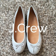 J.Crew Classic Suede Ballet Flats Grey Size 8 NIB J.Crew Classic Ballet Flats Mineral Grey Size 8 NIB J. Crew Shoes Flats & Loafers