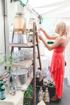 Constanze & Oliver: moderne DIY-Vintage-Hochzeit