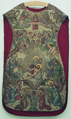 Chasuble, front French Design: Joannès Coquillat Production: J.A. Henry, Lyon Date: 1897 (design)