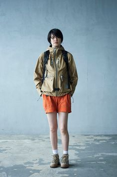 and wander Layers Technical Gear for Spring/Summer The Japanese label wants you to go outside.