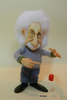 Портретная кукла Эйнштейн / Einstein portrait dolls #креатив #creative #ручнаяработа #handmade #вдохновение #inspiration #toy #игрушка