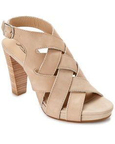 Lucky Brand Pexx Leather Heeled Sandal is on Rue. Shop it now.