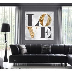 Build on Love Stone Canvas Print, Oliver Gal Found it!!!!! Joss and Main