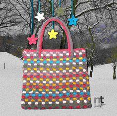 Sportina Tegoline crochet bag pattern by NTmagliaCrochet on Etsy