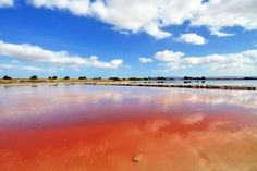 Red Velddrif Salt Pans, South Africa