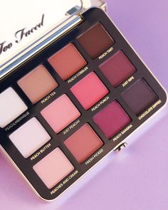 Too Faced Cosmetics @toofaced Too Faced Just Peachy Mattes Eyeshadow Palette #makeup #eyeshadow