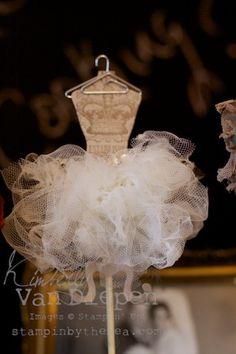 Vintage Dress Forms  Kimberly Van Diepen Stampin up demo