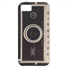 Old polaroîd iPhone 5 covers