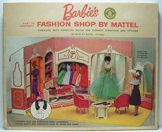 1962 Barbie Fashion Shop NRFB by TheCottageCouturiere on Etsy