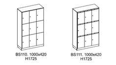 Vi kompletterar vårt sortiment med sidoskåp/Towers är lägre höjd. 915 mm. Samtliga sidoskåp inkluderar pennfacks förvaring på toppen.
