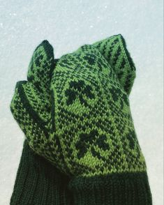 Mittens Pattern, Needles Sizes, Green Colors, Hand Knitting, Ravelry, Colors Of Green