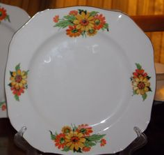 Easy To Use 2 X Vintage Alfred Meakin Brisbane Oval Platters Lovely Condition