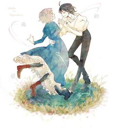 Howl and Sophie - Studio Ghibli