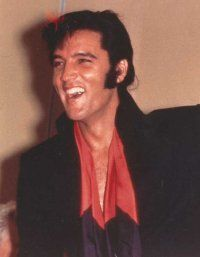 Although Elvis Presley was nervous about performing his show in Las Vegas, he appeared confident.