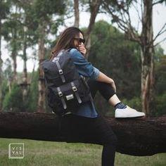 VISVAL ABIGAIL BLACK Bradley Mountain, Backpacks, Bags, Fashion, Handbags, Moda, Fashion Styles, Backpack, Fashion Illustrations