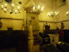 Oldnew synagogue Prague, where late rabbi Löw taught