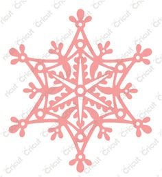 Anna Griffin - Cricut Cuttlebug Cut & Emboss Dies - Snowflake Solo 2002271