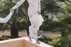 Sara Frost Photography | AMS Love in Video | Yolan Cris Lace Wedding Dress | Stylish Ibiza Destination Wedding at Cala Escondida | Planning by Make My Day | Corvus Barcelona Suit