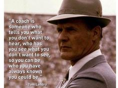 Embedded image permalink Tom Landry, Volleyball Quotes, Volleyball Drills, Volleyball Gifts, Christian Life Coaching, Life Coach Certification, Life Coach Quotes, Gymnastics Coaching, Still In Love