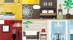 INFOGRAPHIC: A room-by-room guide to feng shui your home