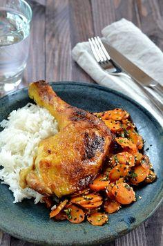 Gyömbéres-mustáros csirke Chicken Recipes, Turkey, Meat, Food, Turkey Country, Essen, Meals, Yemek, Eten