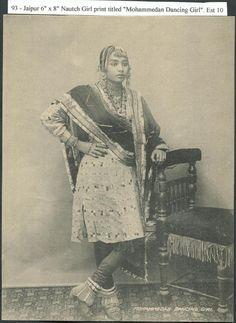 India+Jaipur+Muslim+Nautch+Girl