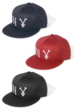 """""""N¥"""" cotton snapback from the Lafayette label out of, of course, Japan."""