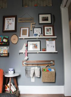 Gray Nursery Shelvin