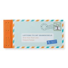 If you're a grandparent who's brimming with life stories and knowledge to bestow on your grandkids, this paper time capsule is the perfect way to do so. Whatever the situation, the prompts in this book will help you unearth memories and tidbits of advice to jot down. The letters you right will certainly be a treasure grandchildren will cherish for years to come.
