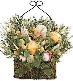 #Seashell Basket