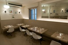 Our back dining room at the Oyster Bar