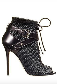 ahtheprettythings - ahtheprettythings Brian Atwood Fall 2014 Be Well Heeled Pin To Win Stilettos, Pumps, Stiletto Heels, Pretty Shoes, Beautiful Shoes, Bootie Boots, Shoe Boots, Ugg Boots, Fall Booties